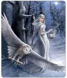 Throw Fleece Anne Stokes Midnight Messenger