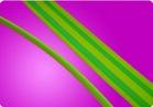 UPM heat shrink S11 green yellow heat shrink tube