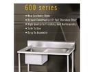 NKE Full Stainless 304 Kitchen Sink Prep Bench 900mm new