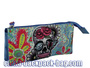 Blue Skull Kids Pencil Case