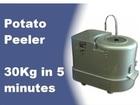 NKE 30KG Commercial Potato Peeler