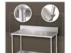 NKE Kitchen Prep Bench 1200x600mm Splashback