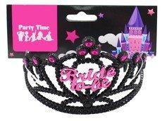 Hens Party Accessories - Black Bride Hens Night Tiara