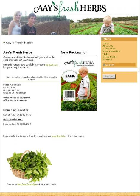 O Aays Fresh Herbs Northern Territory