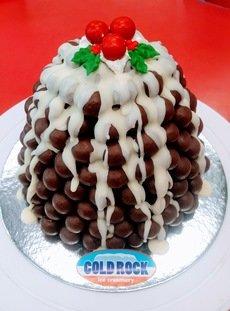 Christmas Ice Cream cakes
