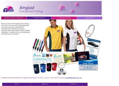 Amglad Promotional Printing