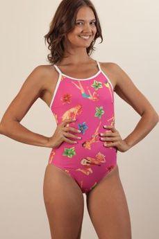 Aloha Pink Chlorine Proof Swimwear