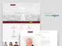 Hansons Lawyers Website Design Preview