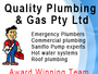 Quality Plumbing and Gas