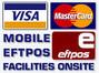 St george Banking Portable Eftpos Visa Machine.